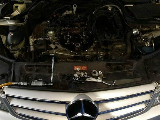 benz luxury car service & Repair Center in chennai